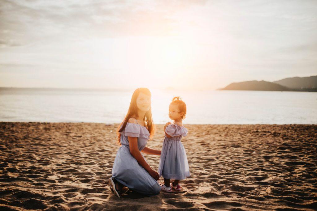 Sukienka mama i córka, czyli chcę być jak mama